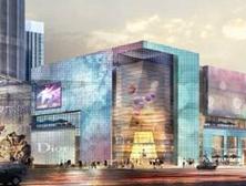 海安中央商场项目南区外立面幕墙装饰